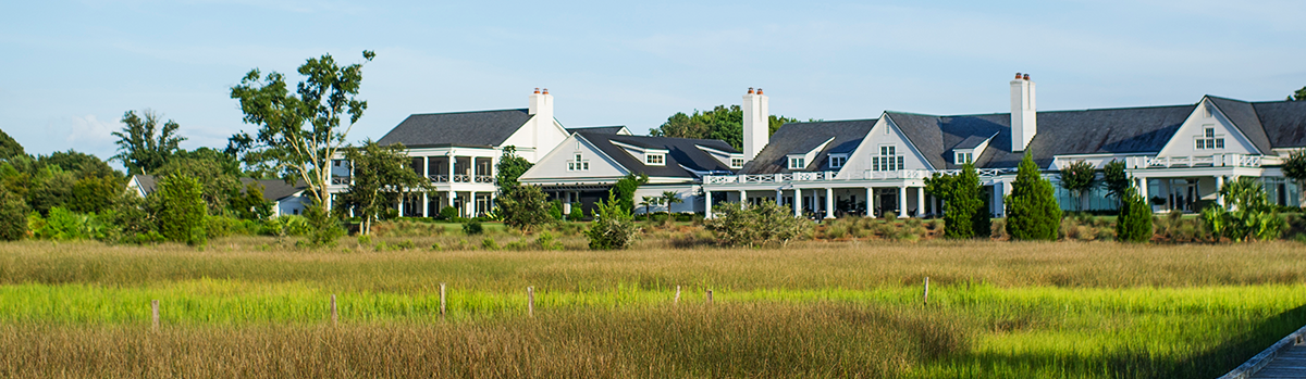 marsh view of homes on Daniel Island